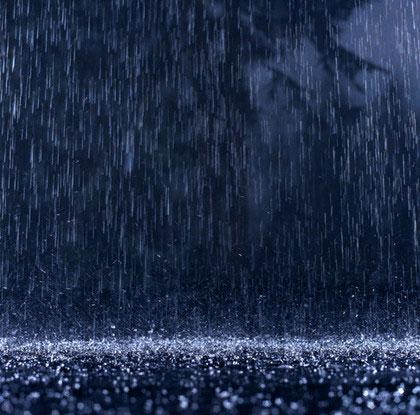 باران شبانه